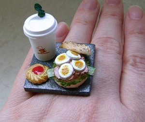 Bagel Sandwich Ring
